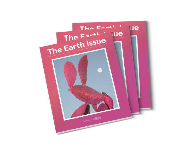 Issue 001 of The Earth Issue magazine