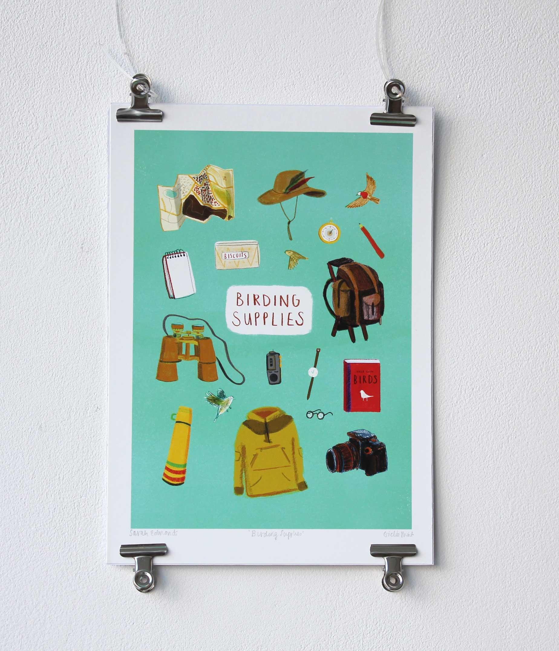 Birding Supplies, Sarah Edmonds