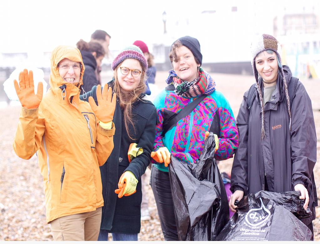 Volunteer Beach Clean