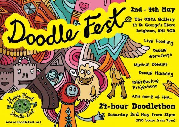 HappyPlanet: Doodlefest
