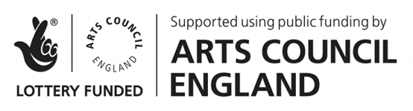 Arts Council England - Lottery Funded