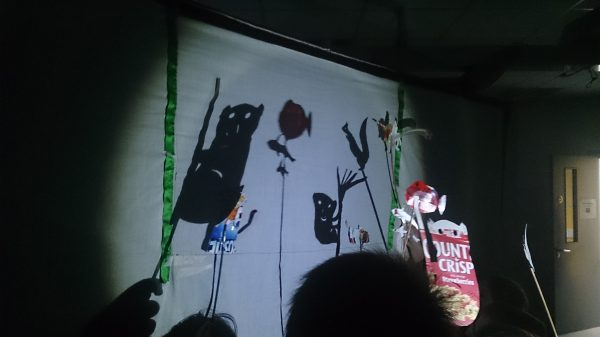 images from puppetry workshop