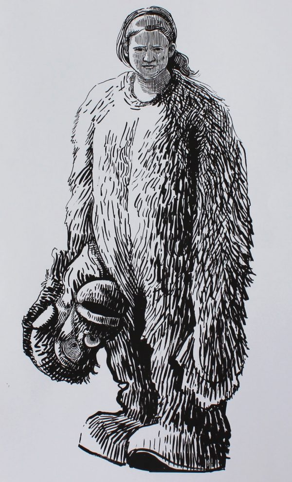 Sarah Gittins 'Orangutan' Screen Print