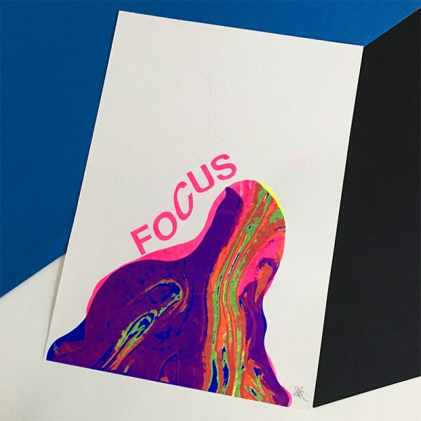 Focus Screen Print by Lois O'Hara