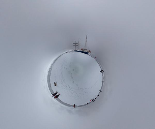 photo of Arctic snow