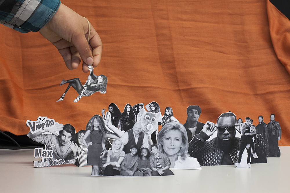 paper cut-out people