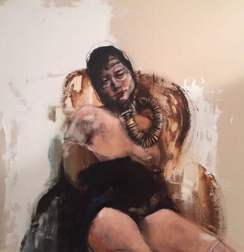 Painting by Rosie Fordham