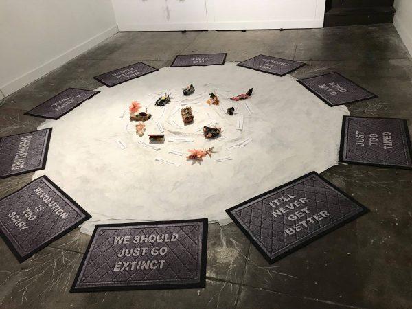 Beverly Naidus installation