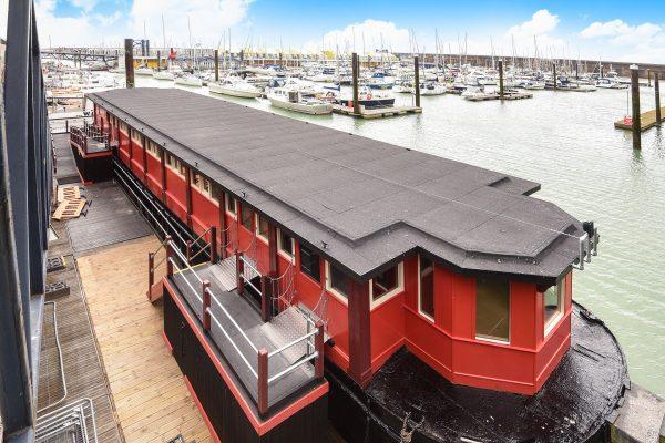 photo of the Barge at Brighton Marina