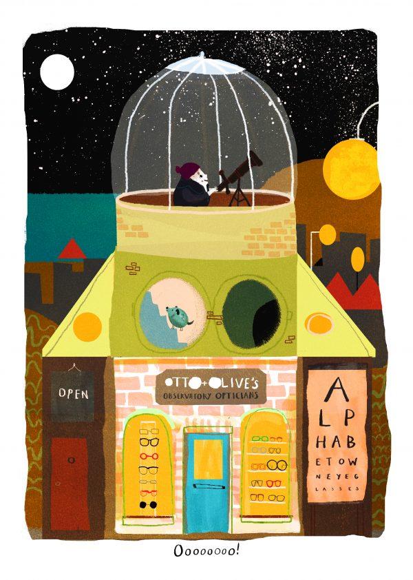 Alphabetown Opticians by Sarah Edmonds