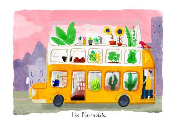 Alphabetown Plantmobile by Sarah Edmonds