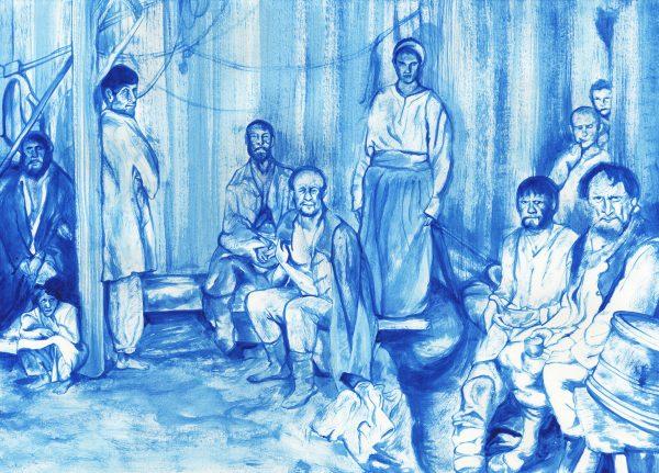 Andrej Rubliev Peasants Small by Federico De Cicco