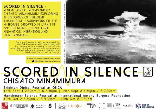 Chisato Scored In Silence Flyer