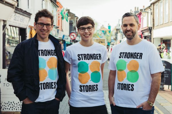 Stronger Stories team photo