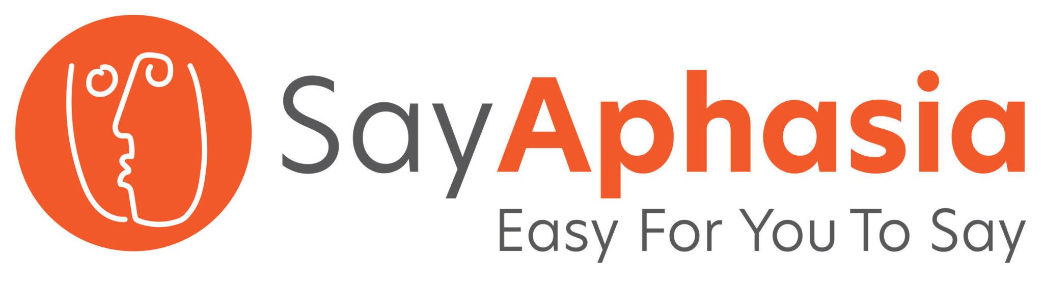 Say Aphasia logo