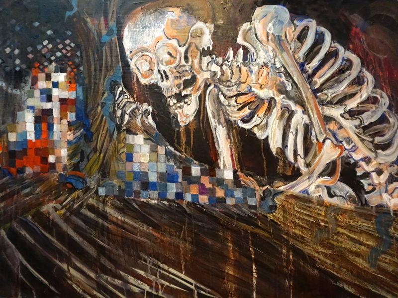 Kim Hak-Sun the survivor and the skeleton spectre