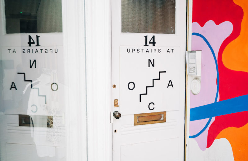ONCA Door Upstairs