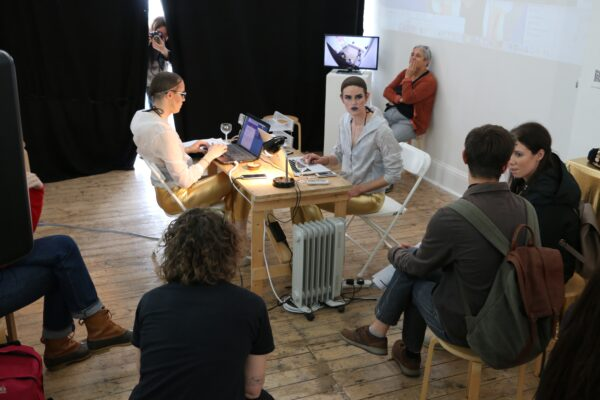 performance in gallery