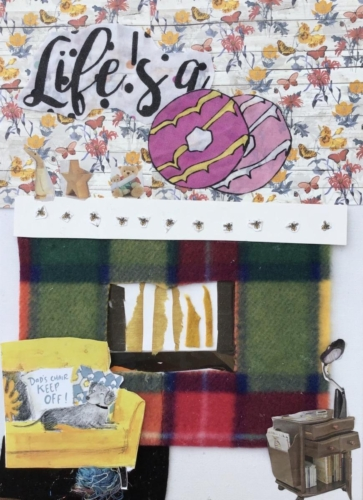 Wendy Hills, Fireplace Collage