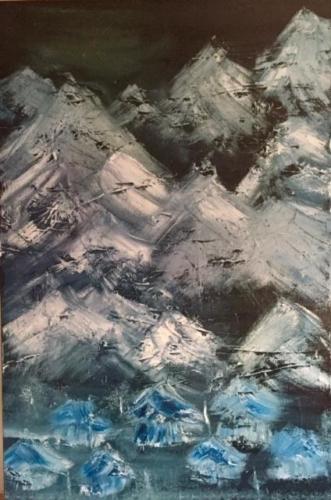 Cris Morales 'Winter Mountains'