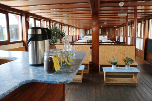 Bar Area with view of Top Deck Space