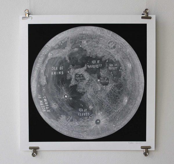 Helen Cann, Moon Map