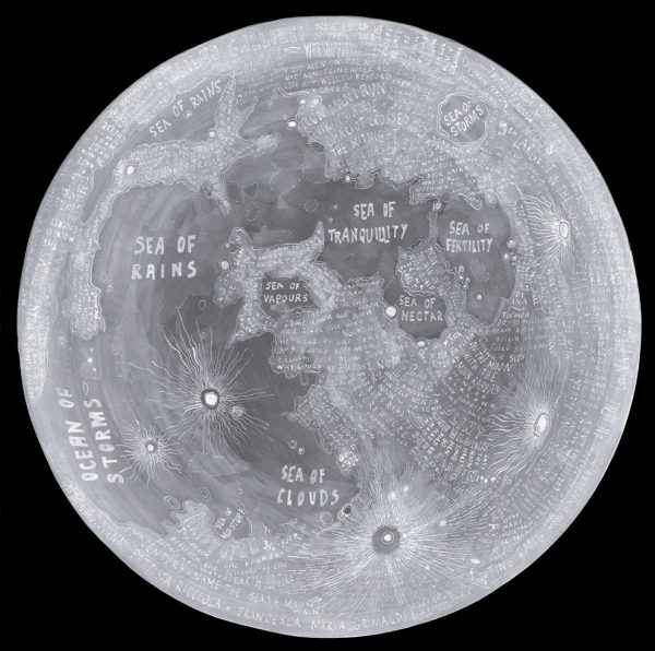 Moon Map, Helen Cann